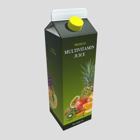 Multivitamin Juice - low poly PBR 3 model