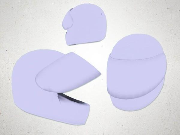 Helmet01 - 3D Model