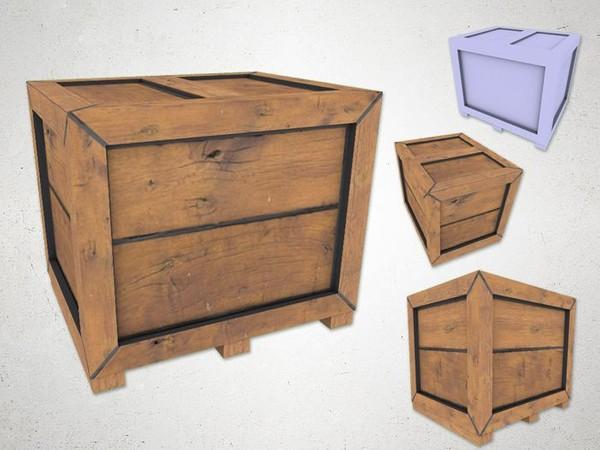 Crate - 3D Model