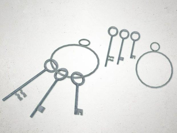 Keys - 3D Model