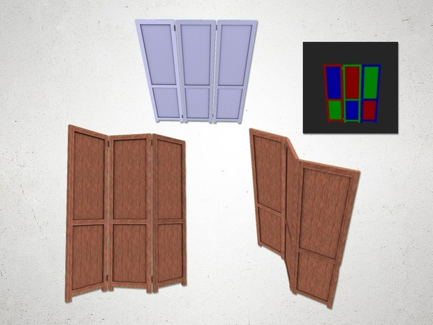 Privacy Screen - 3D Model