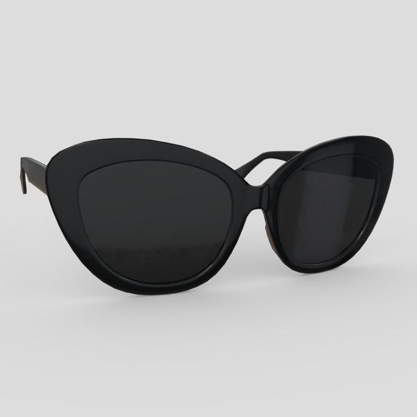 Sunglasses 5 - low poly PBR 3d model