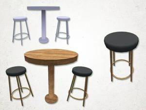 Bar Seat - 3D Model