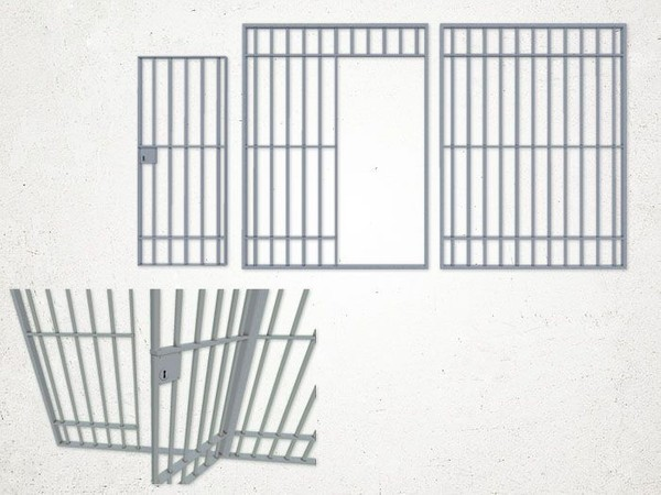 Jail Bars - 3D Model