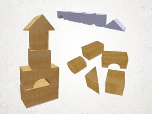 Toy Blocks - 3D Model