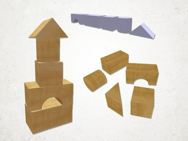 Toy Blocks - 3D Model
