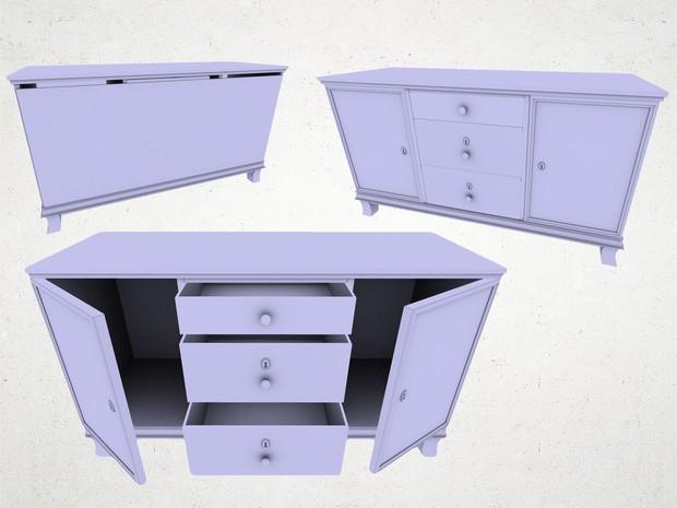 Cabinet - 3D Model