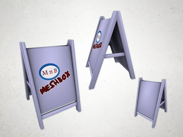 Infoboard - 3D Model