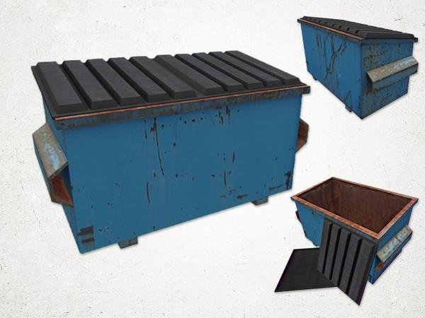 Dumpster - 3D Model
