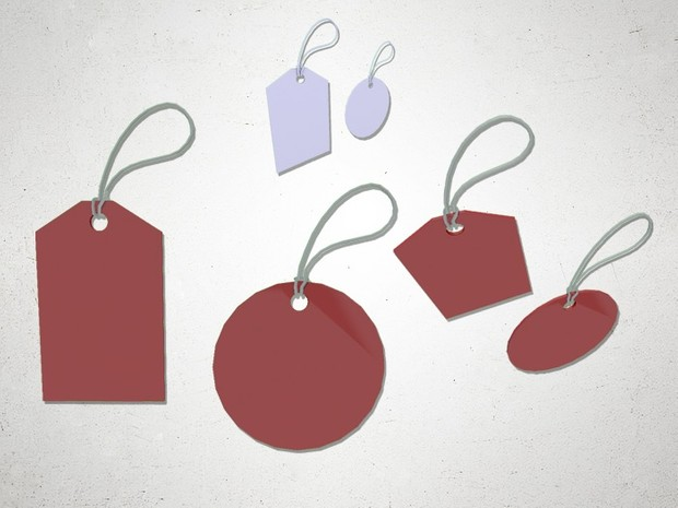 Price Tags - 3D Model