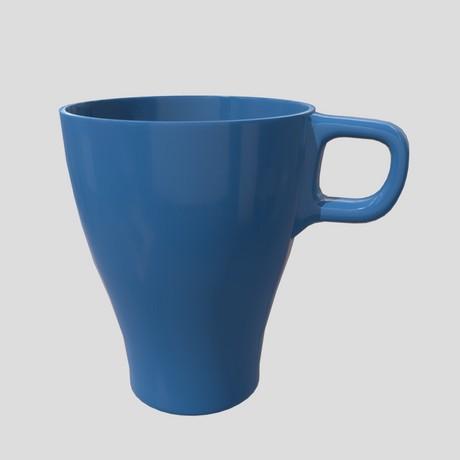 Mug 3 - low poly PBR 3d model