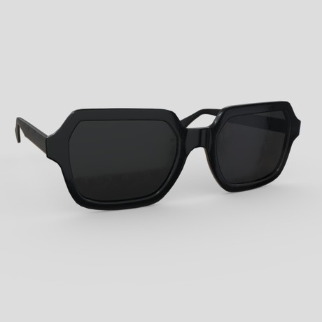 Sunglasses 6 - low poly PBR 3d model