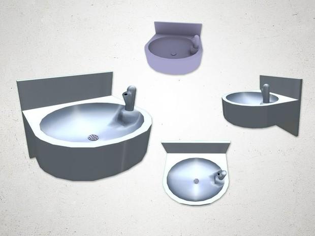 Drinking Fountain - 3D Model