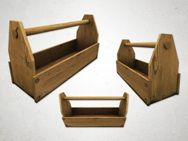 Crate 3 - 3D Model