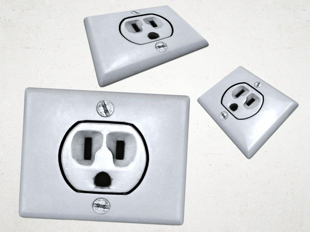 Electrical Outlet 1 - 3D Model