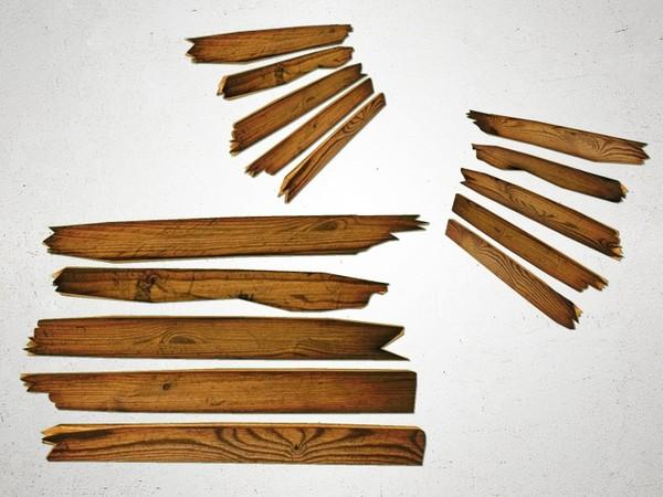Planks Broken - 3D Model