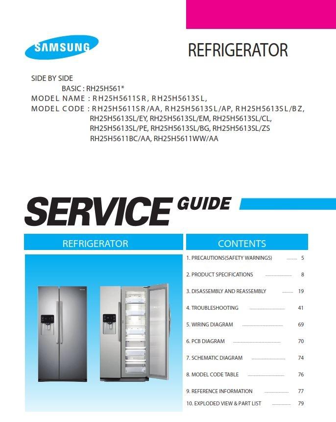samsung rh25h5611sr rh25h5613sl rh25h5611bc rh25h5611w rh sellfy com Automotive Wiring Diagrams Automotive Wiring Diagrams