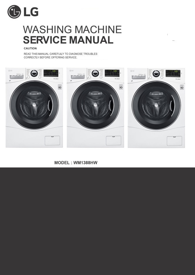 lg lp1215gxr air conditioning service manual and repai rh sellfy com lg washer wm0532hw service manual WM0532HW Troubleshooting