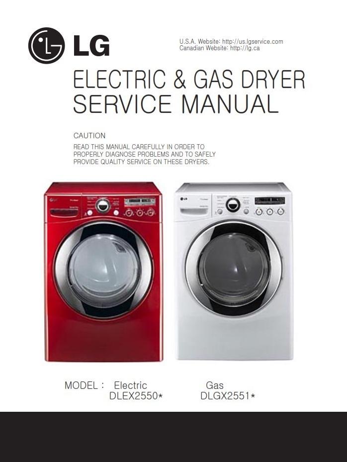 lg dle2512w dlg2522w dle2514w dlg2524w dryer service m rh sellfy com