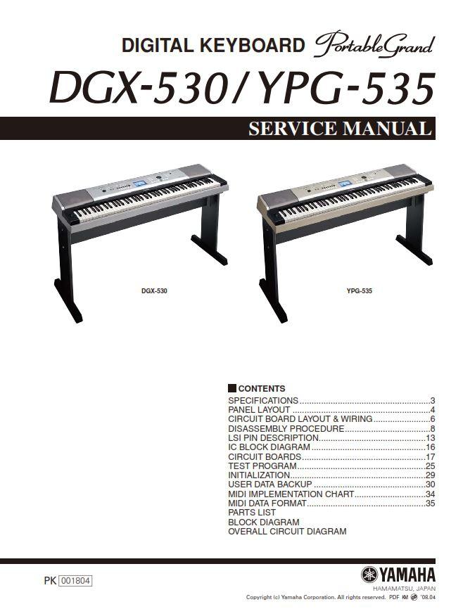 Yamaha Keyboard Wiring Diagram