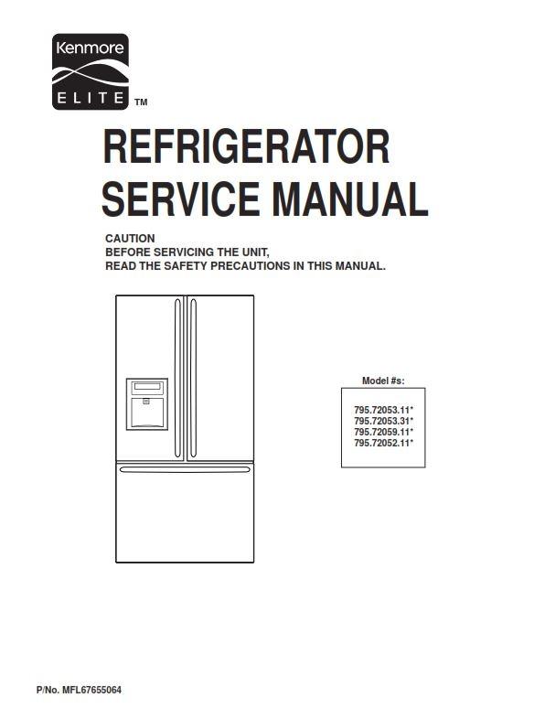 kenmore elite 795 72052 72053 72059 service manual and rh sellfy com repair manual kenmore elite he3 washer repair manual electrolux model ew27mc65ps