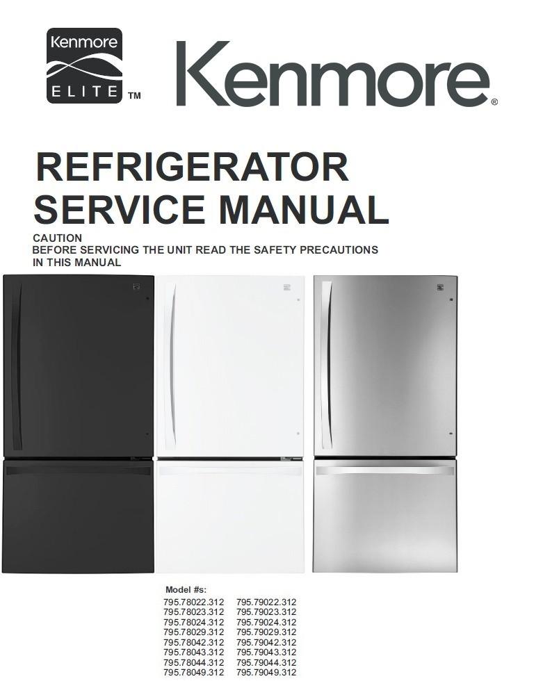 Kenmore Elite 795 79042 79043 79044 79049 (312 models) - serviceandrepairSellfy