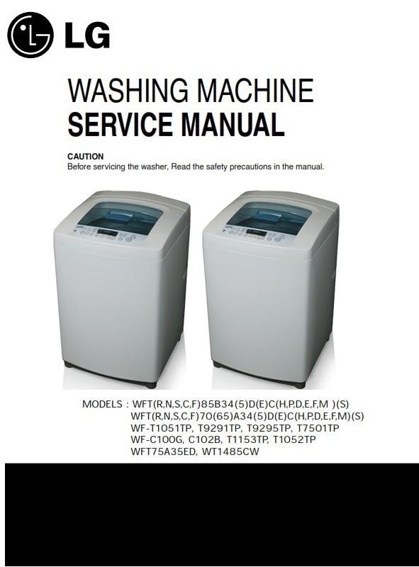 LG WT1485CW original service manual and repair guide