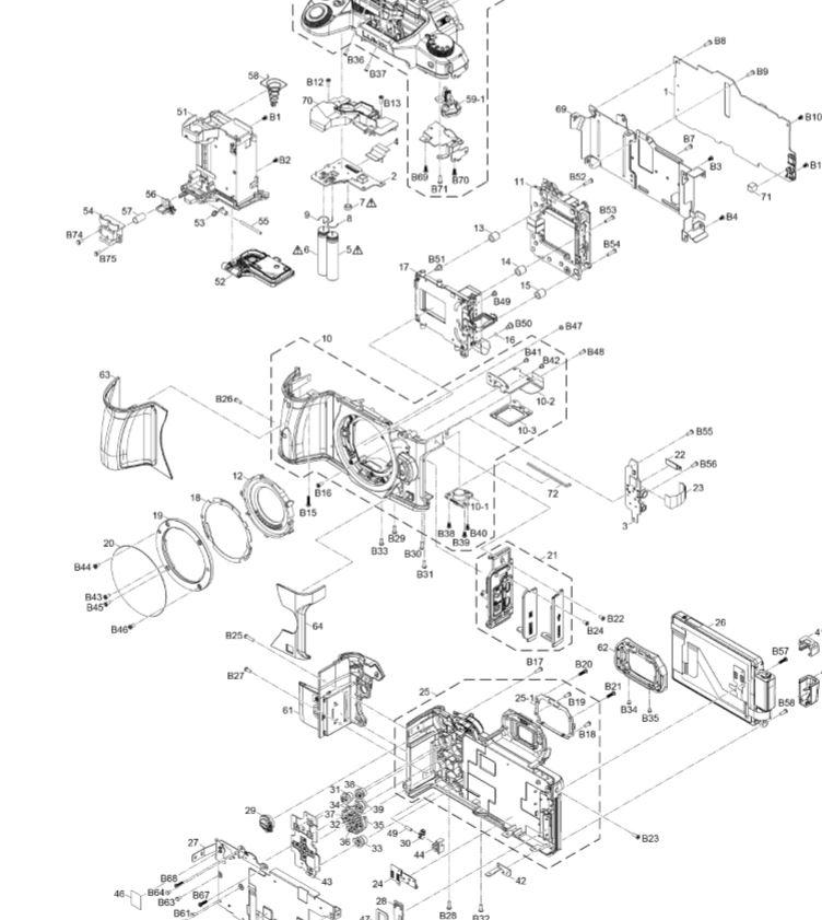 Panasonic Dmc G80 G85 Digital Camera Service Manual