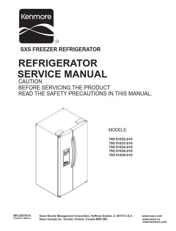 kenmore service manuals refrigerator 1 manuals and user guides site u2022 rh mountainwatch co kenmore coldspot 106 refrigerator manual kenmore refrigerator model 106 service manual