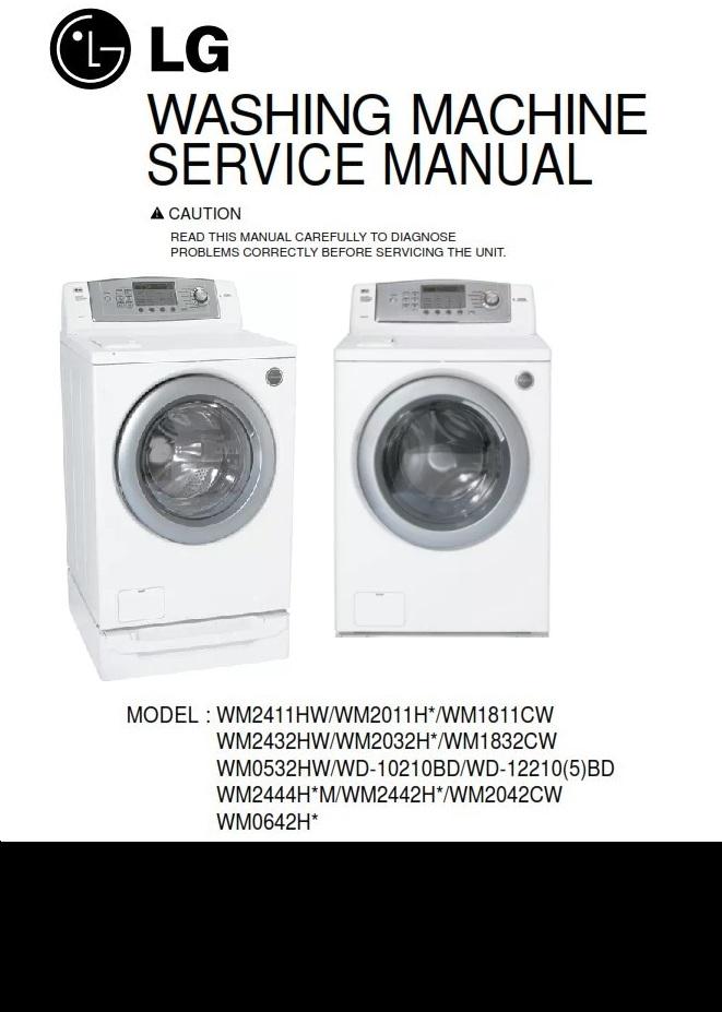 lg wm0532hw wm2042cw wm2444hwm wm2442hw service manual rh sellfy com WM0532HW Troubleshooting WM0532HW Troubleshooting