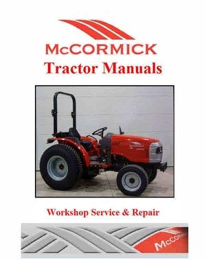McCormick Tractor Service Manuals