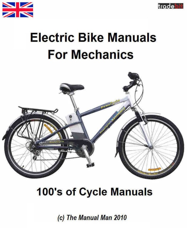 Electric Bikes & Cycle Manuals for Mechanics