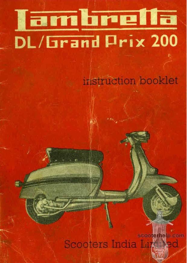 Lambrettor Manuals for Mechanics