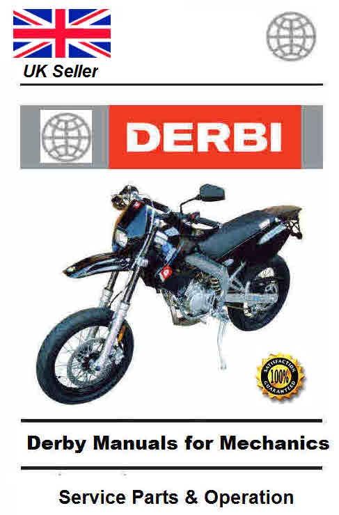derbi manuals for mechanics workshop manuals rh sellfy com Derbi Moped derbi senda r 50 service manual