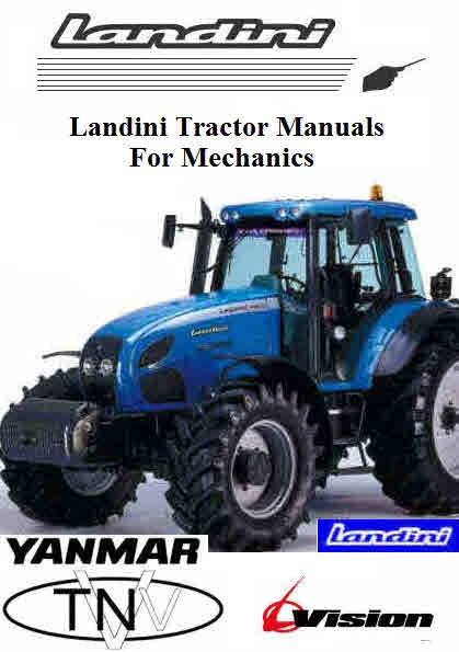 landini tractor manuals for mechanics themanualman rh sellfy com Same Tractor Kioti Tractors