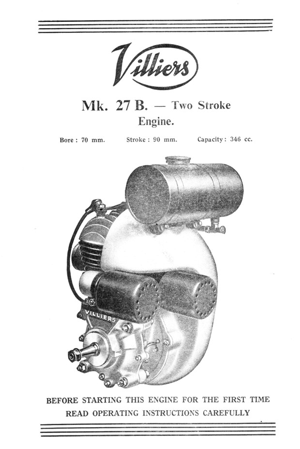 Villiers Engine Super Archive  Giant Database with just about every  Villiers engine ever made
