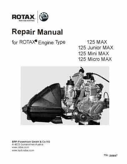 Rotax Aircraft Cart and Motorcycle Snowcat Manuals for Mechanics.