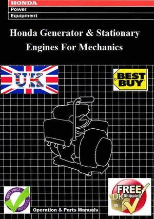 Honda Small Stationary engines for Mechanics