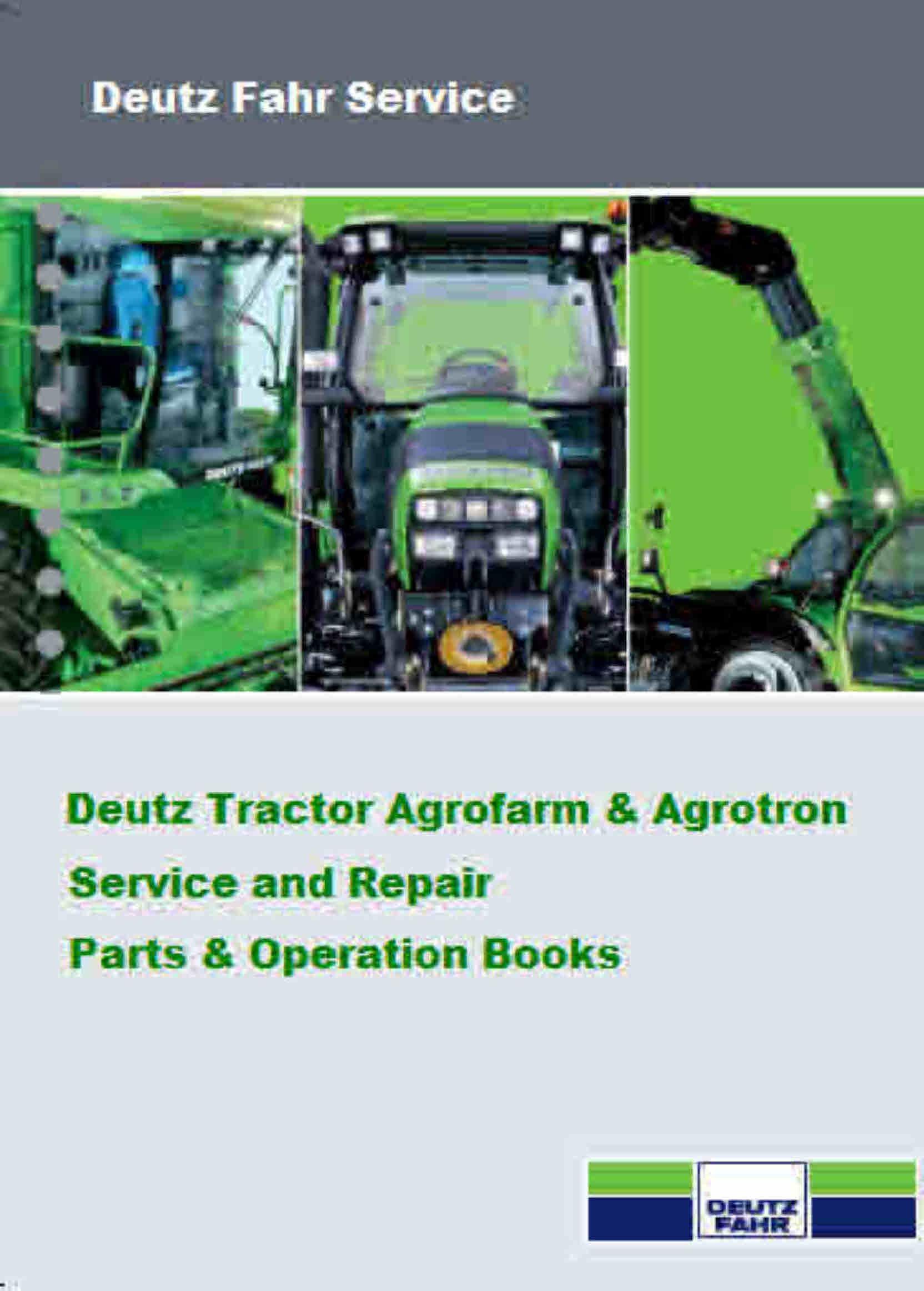deutz tractor service manuals for mechanics rh sellfy com Deutz Parts  Breakdown deutz tractor workshop manuals