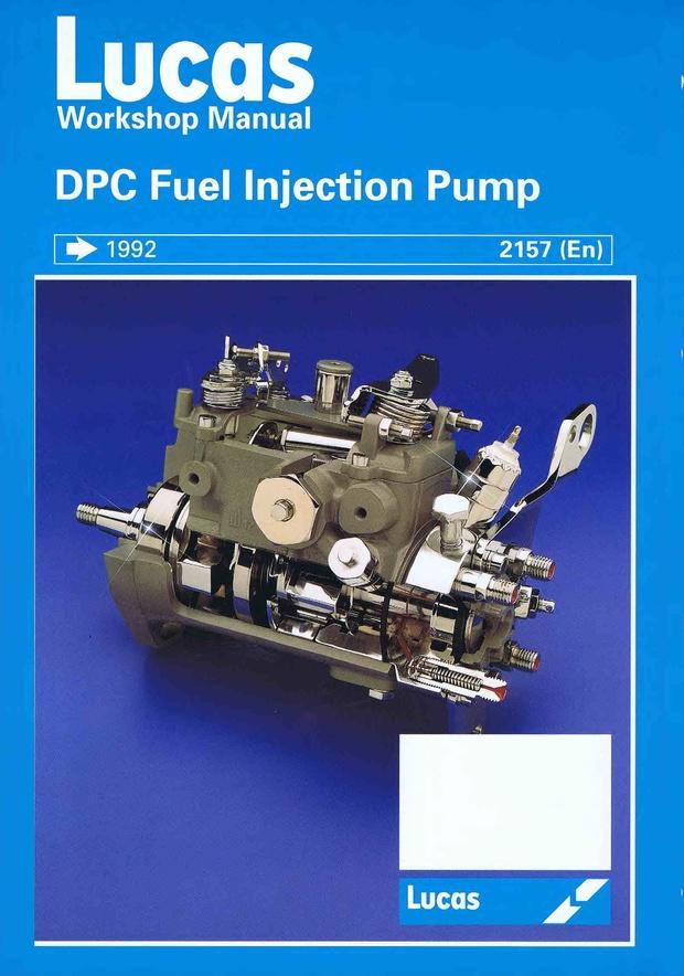 Cva DPC Fuel pump workshop manual
