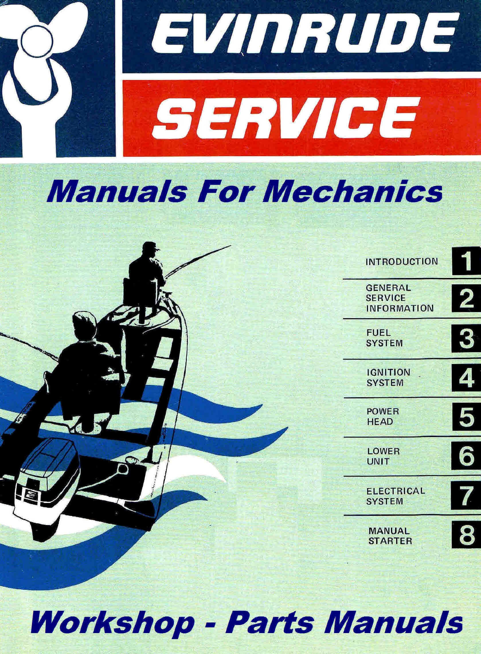 1968 evinrude 6hp service manual manual p n 278645 428 array themanualman rh sellfy com fandeluxe Choice Image