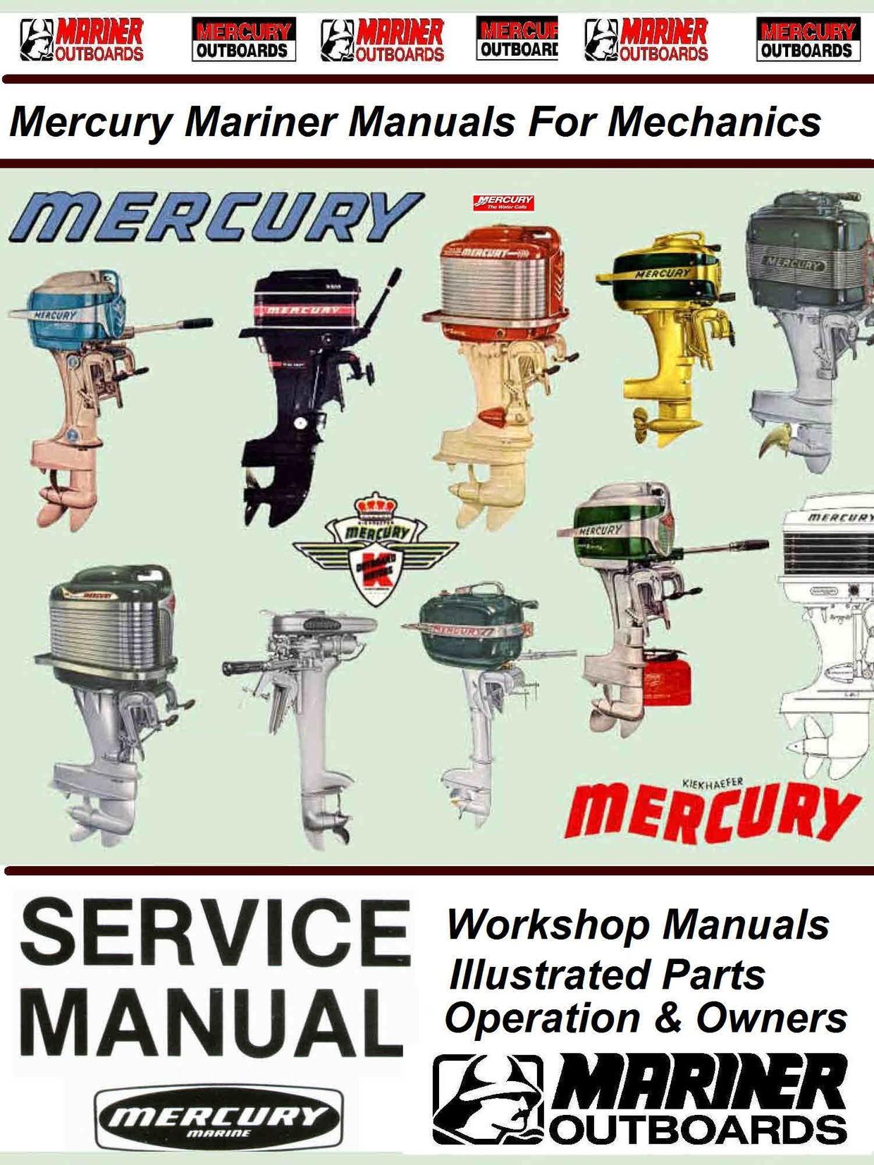 Mercury Mariner Vintage Service Manuals For Mechanic Themanualman