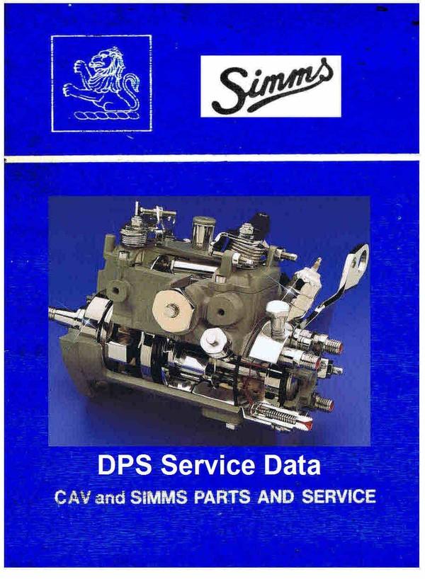Lucas Cav DPS Service Manuals for Mechanics