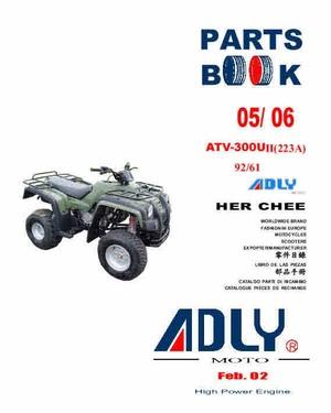 Adly MC Manuals For Mechanics