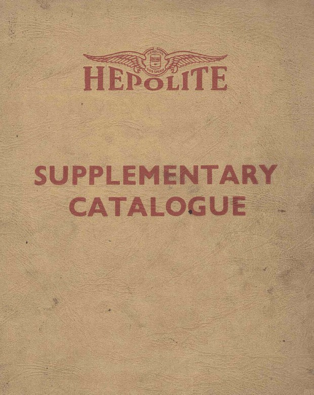 Vintage Hepolite Piston, piston ring and Liners