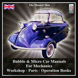 Bubble Cars Micro Cars for Mechanics