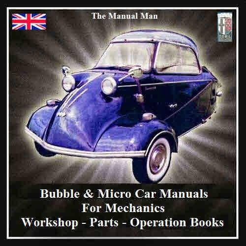 Bubble Cars Micro Cars for Mechanics