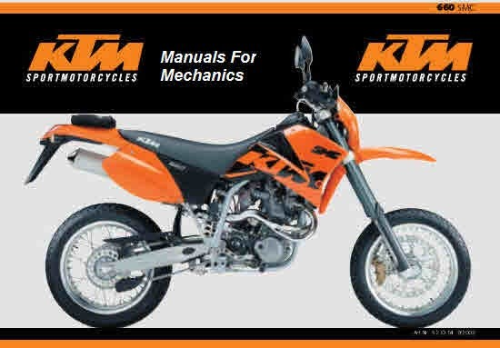 KTM Service and Repair manuals Parts manuals operation manuals