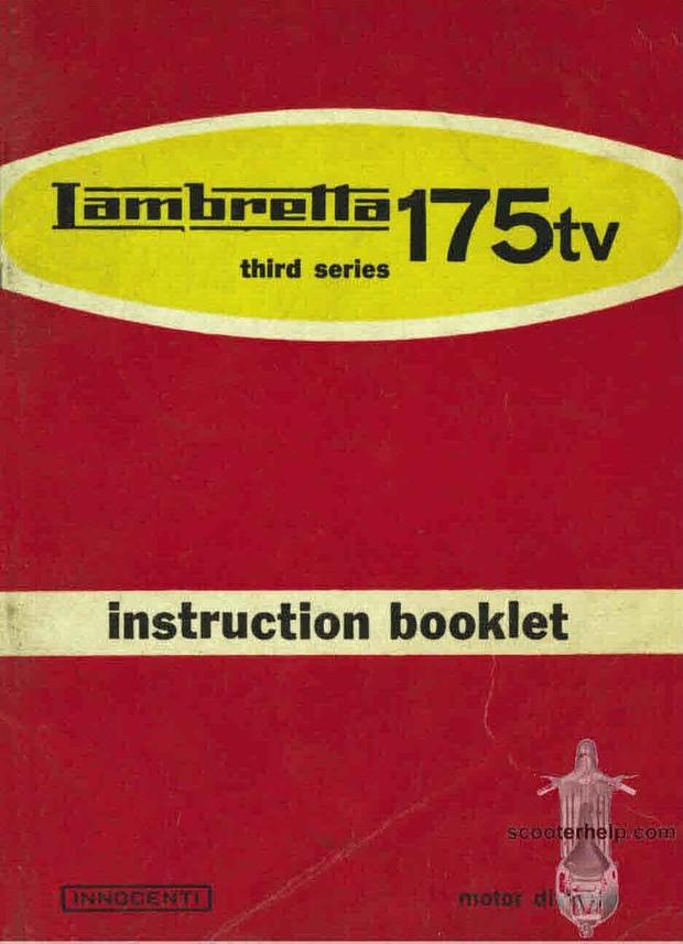 Lambretter Scooter Manuals for Mechanics