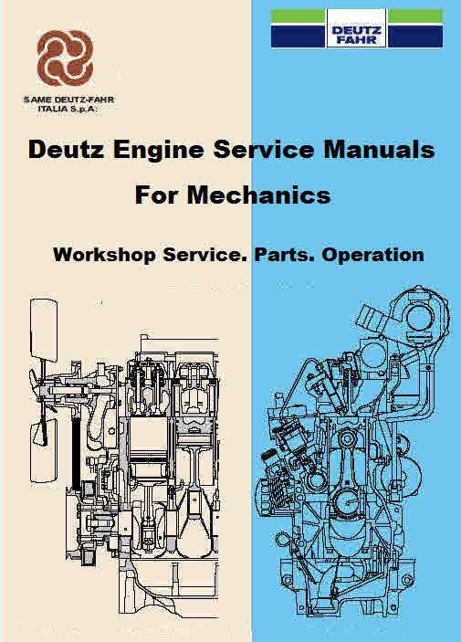 Deutz Tractor Agrofarm & Agrotron service manuals
